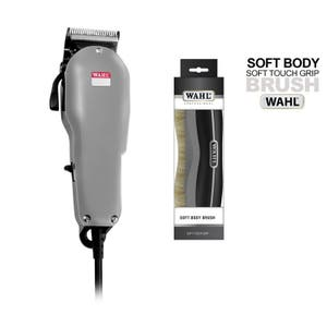 WAHL Adjustable Cut Pro Horse Clipper with Soft Body Brush