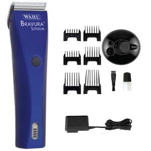 WAHL Bravura Lithium Ion Corded / Cordless Animal Clipper - Pet/Horse/Dog Grooming