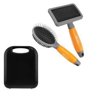 Wahl Pet Grooming Brushes & Case