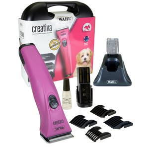 Wahl Creativa Dog / Pet Clipper with 2 Removable Lithium Ion Batteries