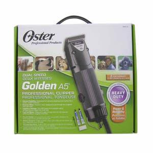 Oster Dual Speed Animal Clipper Golden A5 Pet Clipper 78005-141