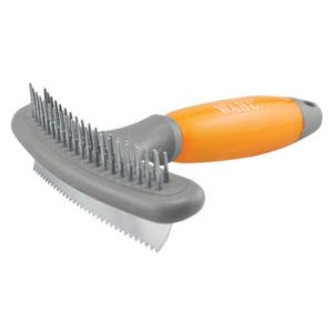 Wahl Dog Shedding 2 in 1 Double Row Rake and Shedding Pet Blade - Made In Canada